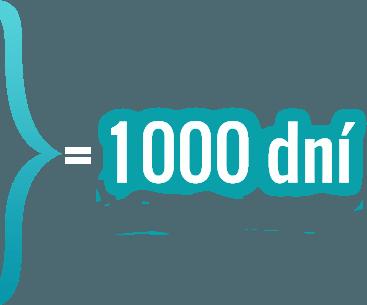 1000 dní